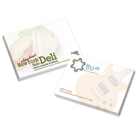 Adhesive Note Pads - 100 Sheets